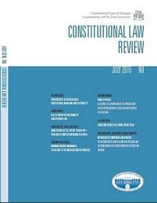 """კონსტიტუცია """"ყველასათვის"""" თუ """"მცირერიცხოვან რჩეულთათვის"""" – კონსტიტუციის შექმნის პრობლემები საქართველოში     CONSTITUTION FOR """"ALL"""" OR FOR """"CHOSEN FEW"""" – PROBLEMS OF CONSTITUTION-MAKING IN GEORGIA"""
