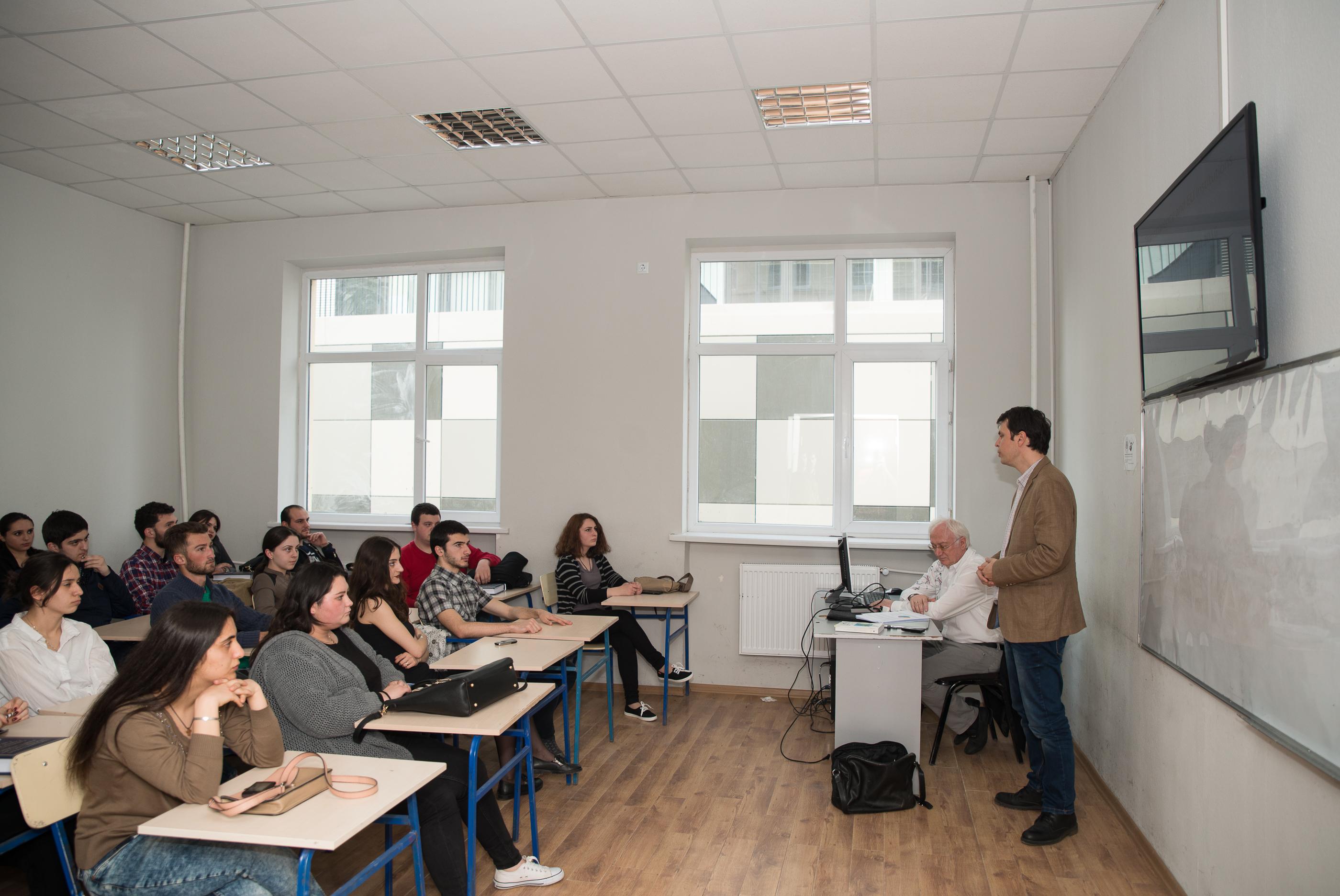 """საჯარო ლექცია – """"გამჭვირვალობა ევროკავშირის ინსტიტუციებში"""""""