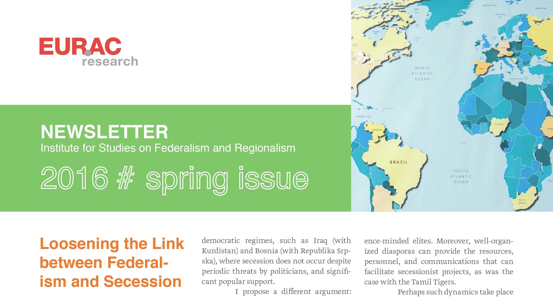 კარლო გოდოლაძის კონტრიბუცია – For EURAC Newsletter